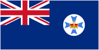 The State Flag of Queensland