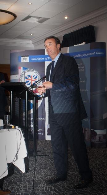 Ed Bateman speaking at the Association of British Investigators Birmingham Conference - September 2014